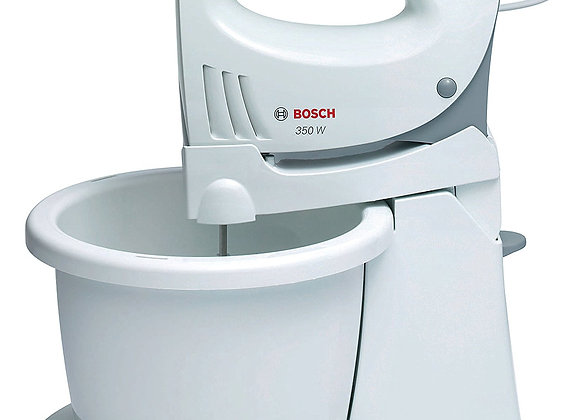 Bosch MFQ3555GB Hand Mixer with Bowl, 350 W - White
