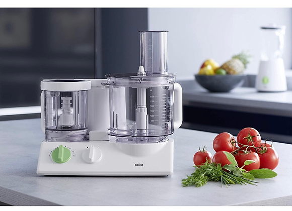Braun TributeCollection FX 3030 - food processor - 800 W - white/green