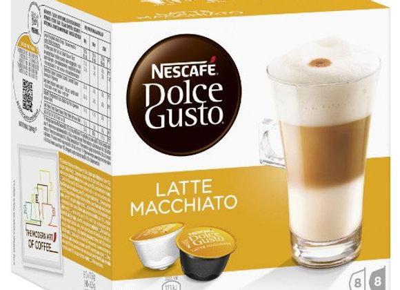 Nescafé Dolce Gusto Latte Machiato Coffee 8 Pack