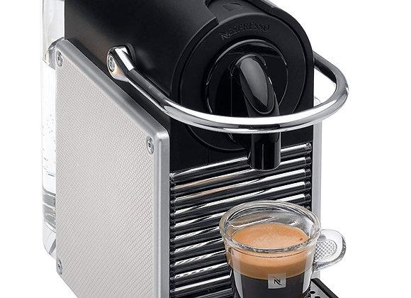 Nespresso Pixie Coffee Machine, Silver by Magimix