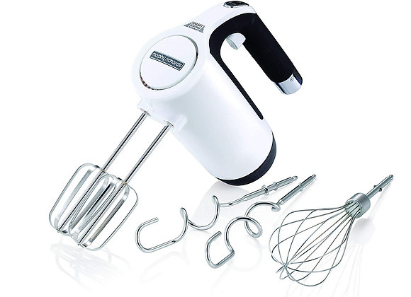 Morphy Richards 400505 Total Control Hand Mixer, White