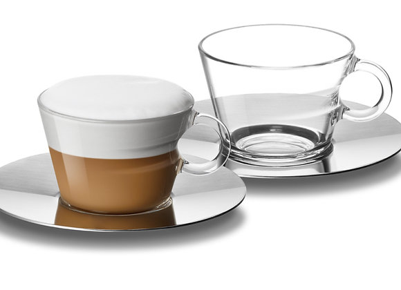Nespresso View Cappuccino Cups & Saucers