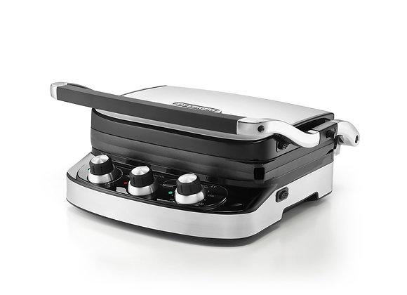 DeLonghi Health Grill CGH902C, 1500 W - Silver