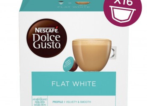 NESCAFE DOLCE GUSTO FLAT WHITE 16 Pack
