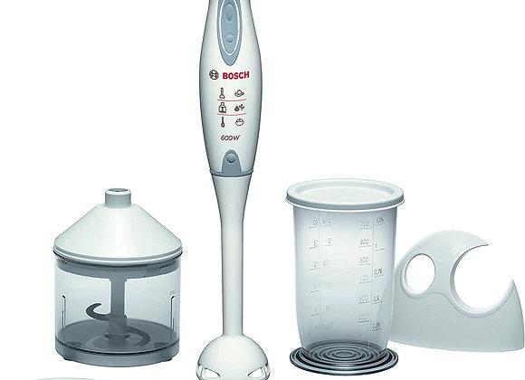 Bosch MSM6300GB Hand Blender and Accessories, 600 W - White/Grey