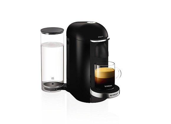 Nespresso Vertuo Plus, Black finish by Krups