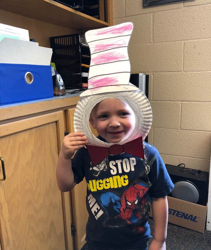 cat in hat reading month