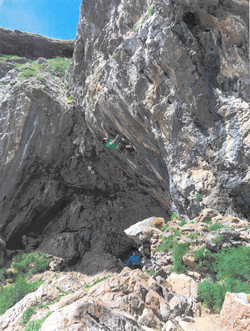 Rock Climbing Gower Specialist Course
