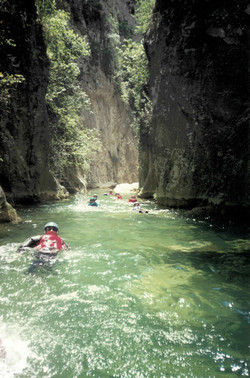 Canyoning Spain 2