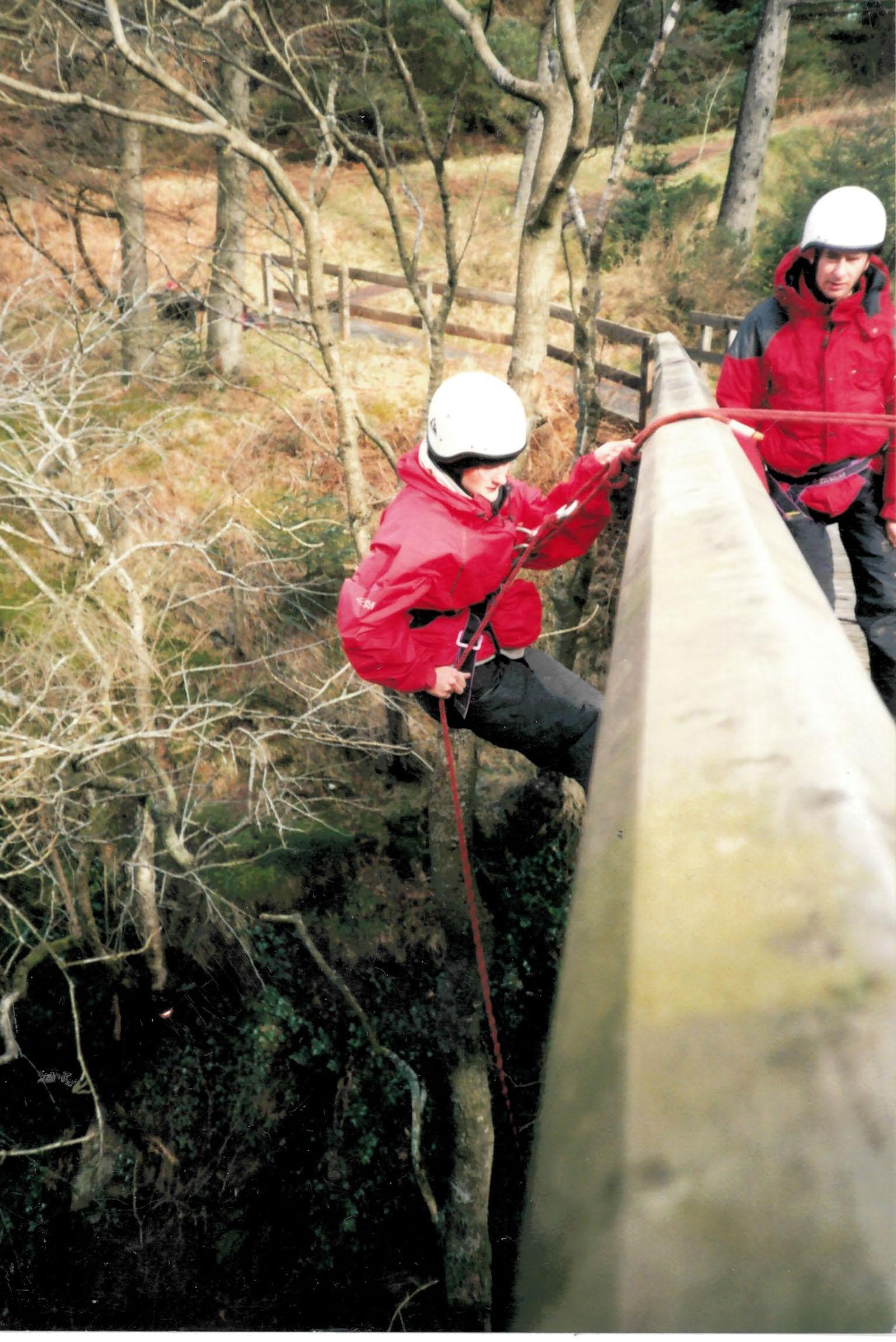 Bridge Abseil Brecon Beacons (2)