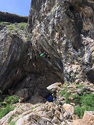 Ben Matthews Climbing 1