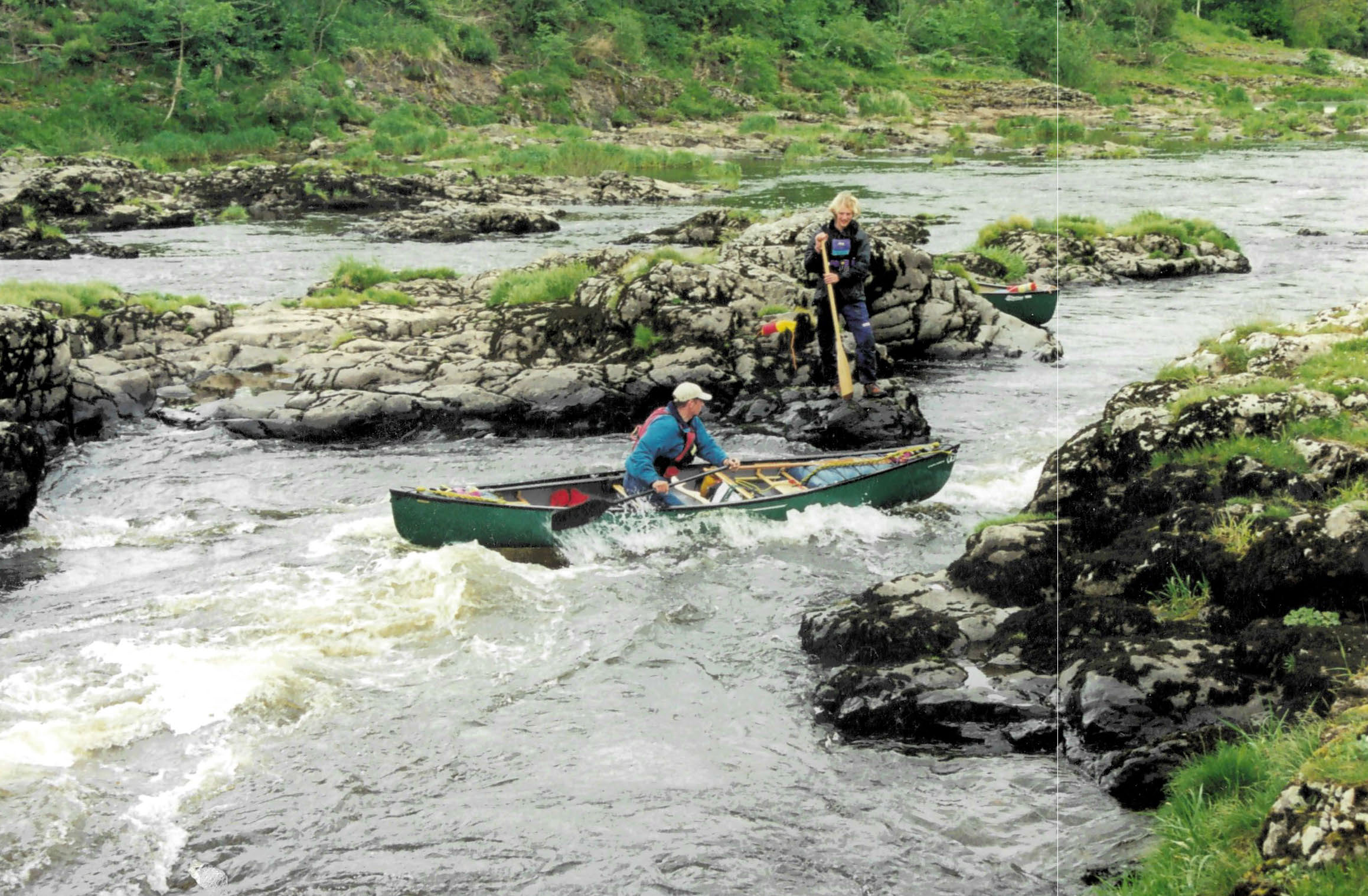 Canoeing Upper Wye