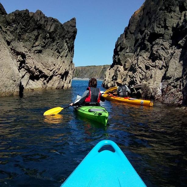 Sea Kayaking St Davids