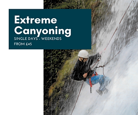 Extreme Canyoning Courses