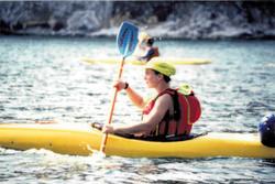 Sea canoeing Gower