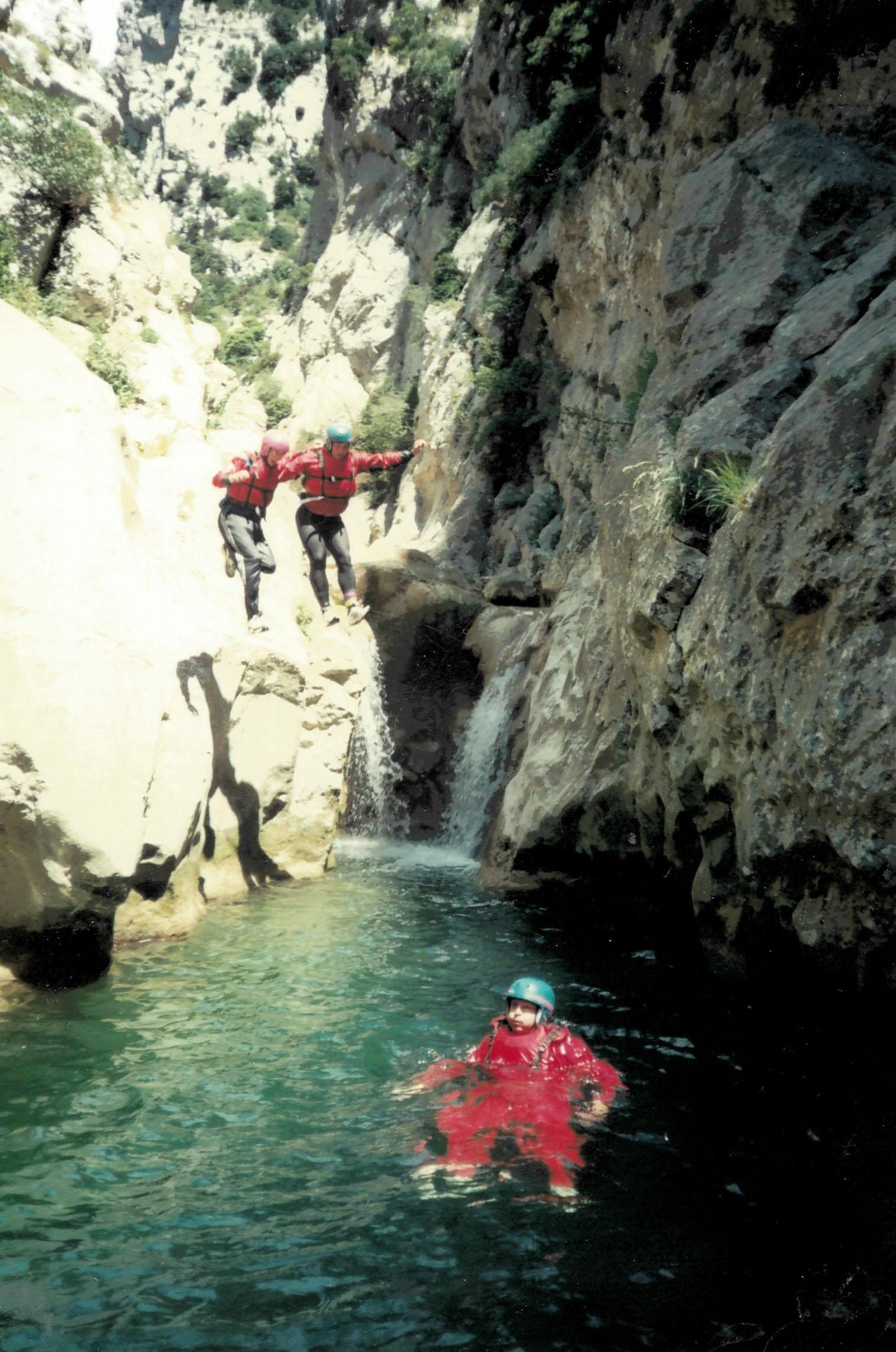 Canyoning France
