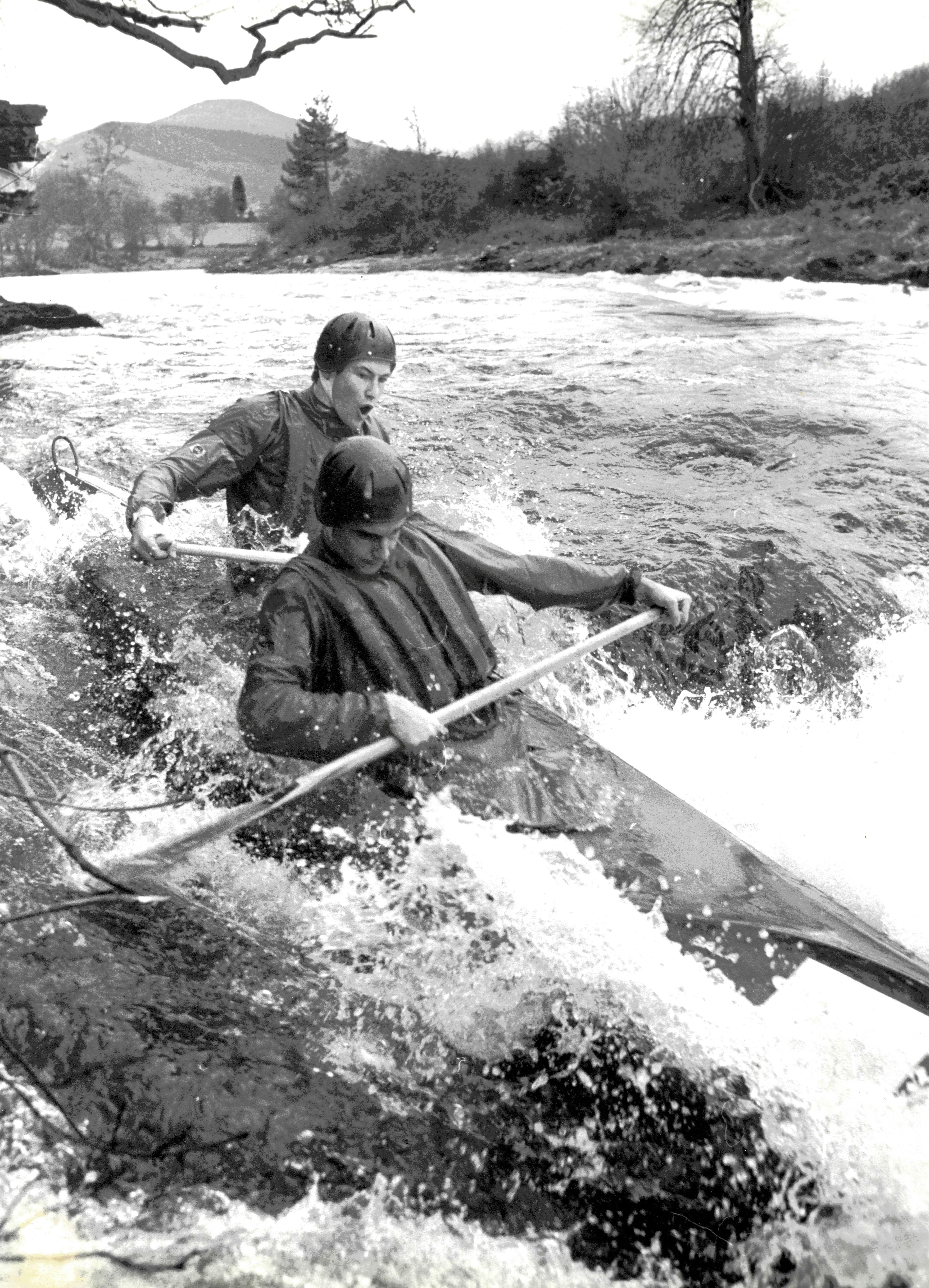 White Water Canoeing 1