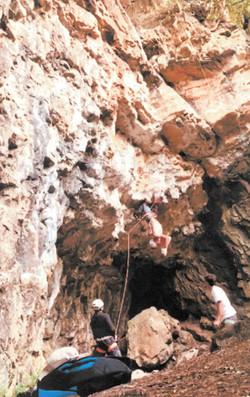 Ben Matthews Climbing