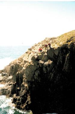 Coastering Pembrokeshire