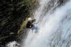 Waterfall Abseil Brecon Beacons