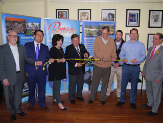 "PRESS RELEASE: Benson ""Cuts the Cord"" to Celebrate Downtown WiFi"