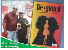 Author visits Greg's