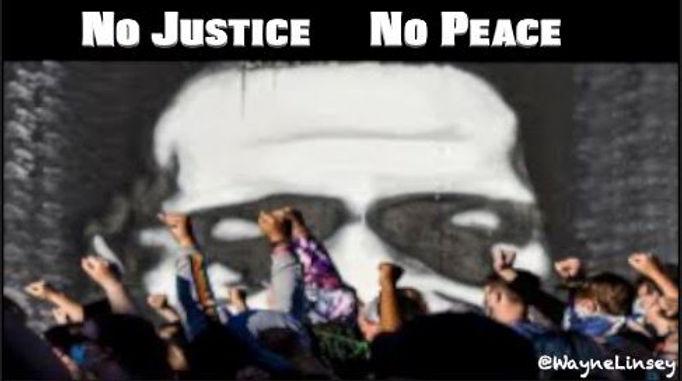 Wayne Linsey _No Justice No Peace_