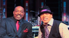 Wayne with Tonight Show Band Leader and friend Rickey Minor