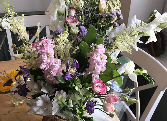 Large Aqua Bouquet