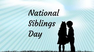 Celebrating National Siblings Day
