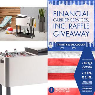 FCS Raffle Giveaway Winner of Trinity 80qt. Cooler!