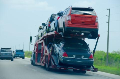 semi car hauler