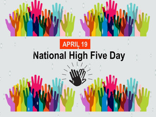National High Five Day