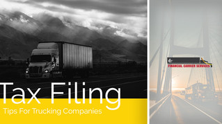 Tax Filing Tips For Trucking Companies