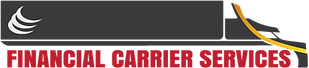 Financial Carrier Services Factoring Trucking Logo