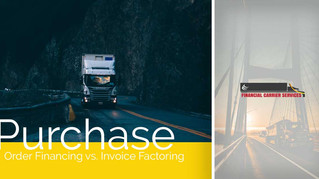 Purchase Order Financing vs. Invoice Factoring