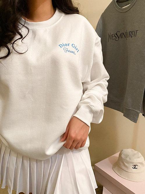 Dior Girl Crew Neck Sweatshirt