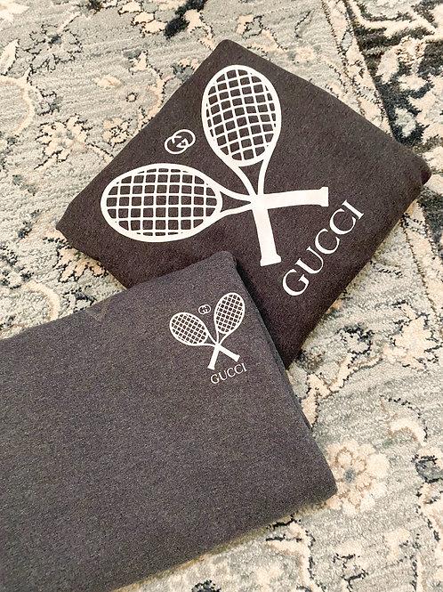GG Tennis Crew Neck Pullover - Corner Logo