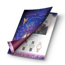 Création d'une brochure pour une bijouterie du Soissonnais