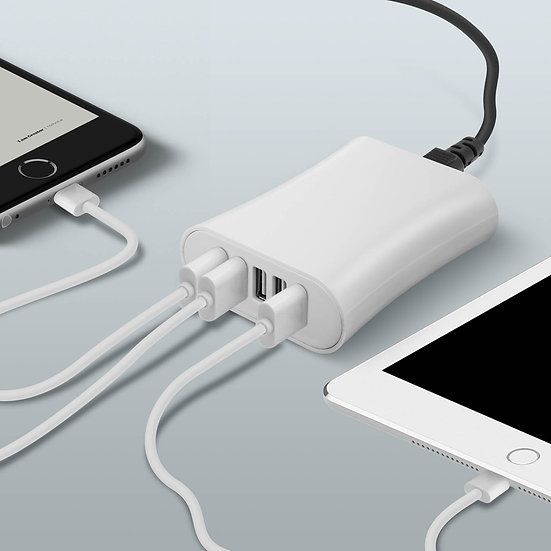 Chargeur Secteur - 5 ports USB 7.8A - SMART IC