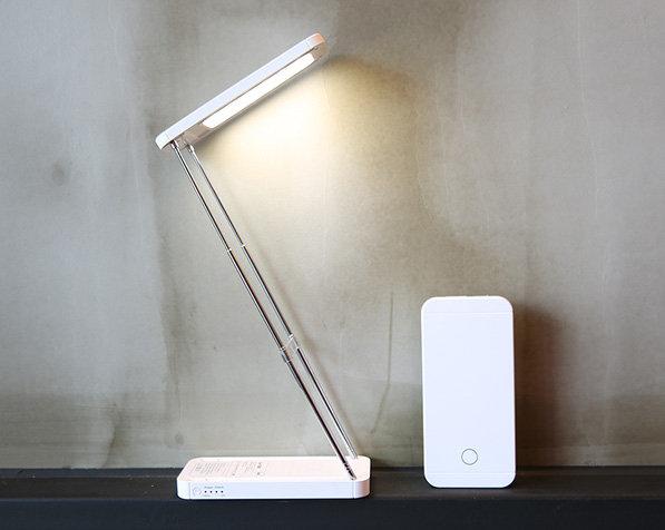 SM-LAMPE - Batterie externe avec lampe dépliable de 3600 mAh
