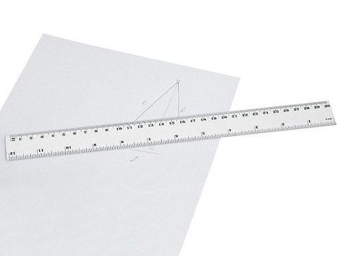 Règle en plastique de 30 cm