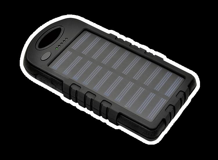 BAL-SOL8K - Batterie solaire de 8000 mAh avec LED