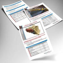 Élaboration de fiches ou flyers A4 de 130g couché brillant impression quadri recto verso en français