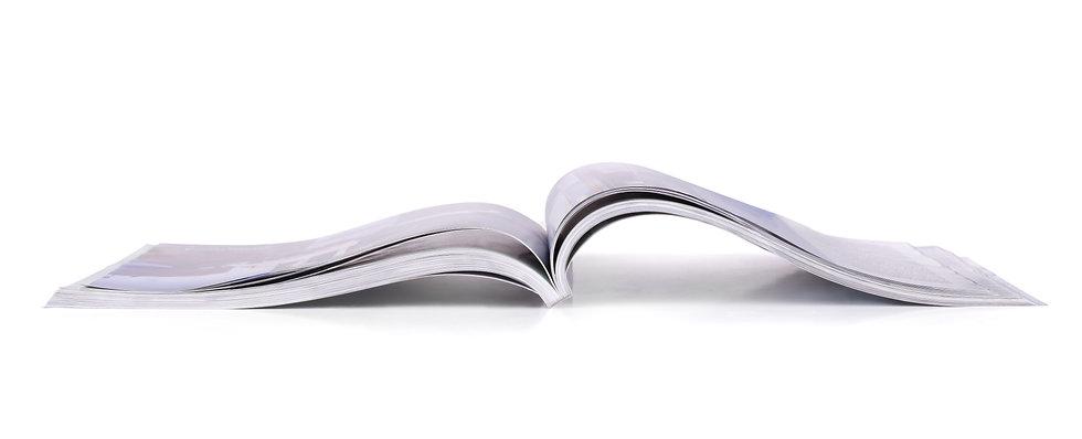 brochure catalogue livre revue magazine