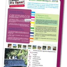 Création d'un magazine institutionnel pour un comité du tourisme de l'Aisne