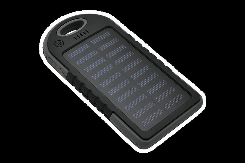 BAL-SOL4K - Batterie solaire de 4000 mAh avec LED