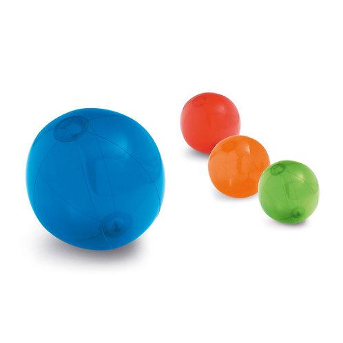 Ballon de plage translucide