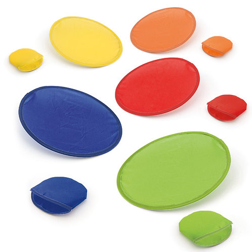 Frisbee en tissu pliable