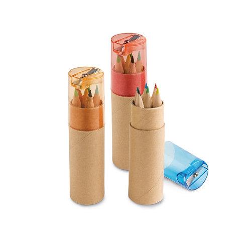 Boîte de 6 crayon de couleurs